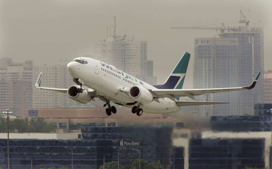No. 5. WestJet Airlines(Canada): Score of 64.4. Photo: Toronto Star