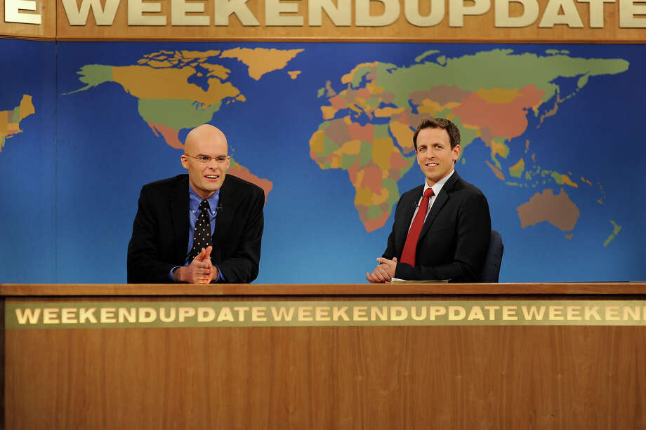 Bill Hader as James Carville on Weekend Update with Seth Meyers in 2010. Photo: NBC / 2012 NBCUniversal, Inc.
