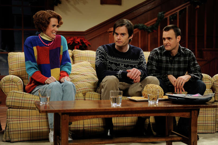 Kristin Wiig, Will Forte and Bill Hader on SNL in 2009. Photo: NBC / 2012 NBCUniversal, Inc.