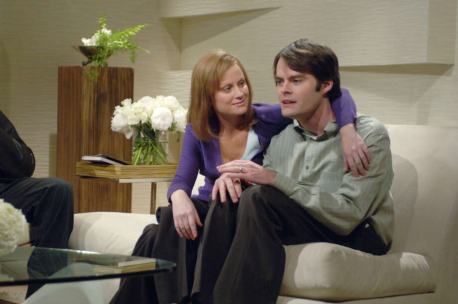 "Amy Poehler as Debra Preston, Bill Hader as Jody Preston during ""The Bitchslap Method"" skit on November 18, 2006. Photo: NBC / 2012 NBCUniversal, Inc."