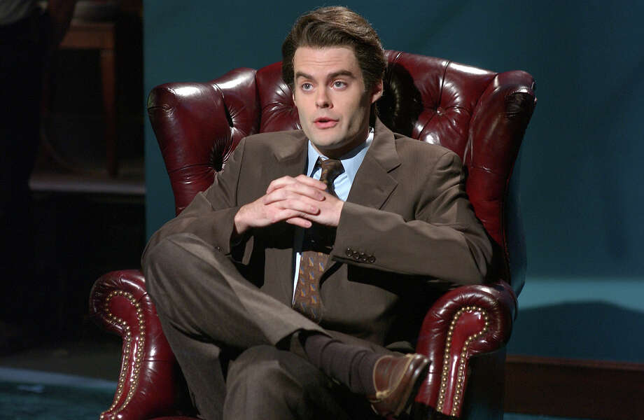 "Bill Hader as psychiatrist Daniel Lane during the ""Jet Blue Flight #292"" skit on October 1, 2005. Photo: NBC / 2012 NBCUniversal, Inc."
