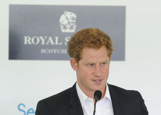 Prince Harry during the Sentebale Polo Cup festivities at the Greenwich Polo Club, Wednesday, May 15, 2013. The po