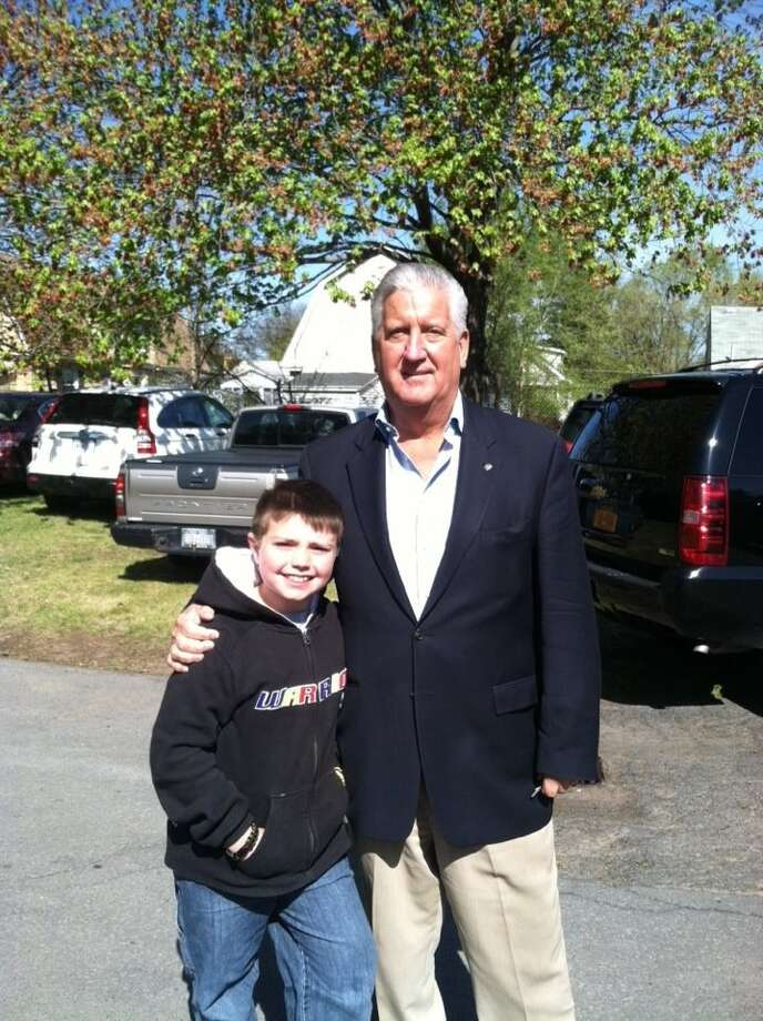 Were you Seen posing with Albany Mayor Jerry Jennings?