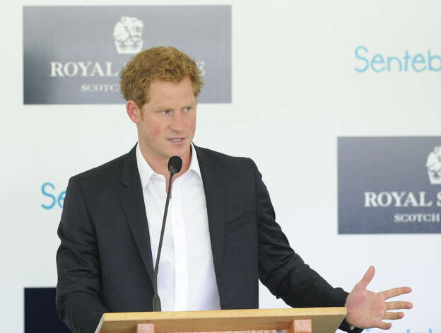 Prince Harry during the Sentebale Polo Cup festivities at the Greenwich Polo Club, Wednesday, May 15, 2013. The polo match is being played to raise funds for Sentebale, a charity Prince Harry co-founded in 2006 in memory of his late mother, Princess Diana. Photo: Bob Luckey / Greenwich Time