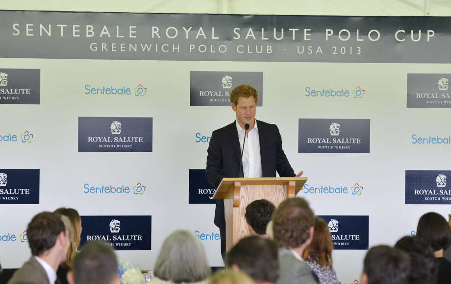 The Sentebale Polo Cup festivities at the Greenwich Polo Club, Wednesday, May 15, 2013. The polo match is being played to raise funds for Sentebale, a charity Prince Harry co-founded in 2006 in memory of his late mother, Princess Diana. Photo: Bob Luckey / Greenwich Time