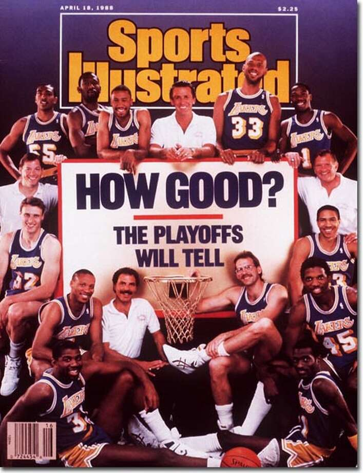Harding's Wes Matthews was in the late-stages of his NBA career when he landed a spot on Showtime. He and the rest of the 1987-88 L.A. Lakers were featured on SI's NBA playoff issue April 18, 1988. The Lakers eventually repeated as NBA champions that year. Photo: Lane Stewart