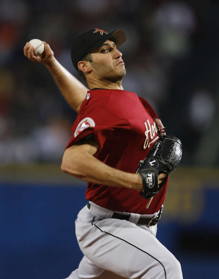 34. Andy Pettitte, LHP (2004-2006)37-26 with a 3.38 ERA in 519.2 IP, 428 Ks, an ERA+ of 129 and 7.5 Wins Above Replacement.  A force on 2005 World Series team, going 17-9 with 2.39 ERA and fifth-place finish in Cy Young Award voting. Photo: Karen Warren, Houston Chronicle / Houston Chronicle