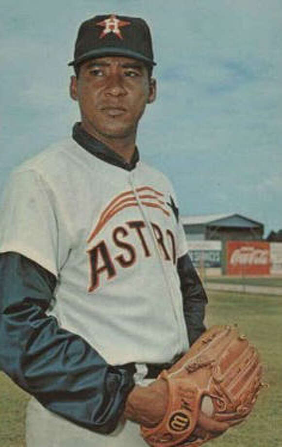 30. Mike Cuellar, LHP (1965-1968) 37-36 with a 2.74 ERA in 700.1 IP, with 557 Ks, an ERA+ of 119 and 15.4 Wins Above Replacement.  Crafty lefthander best remembered for what he did after Astros traded him to Baltimore Orioles for Curt Blefary (125-63 with a Cy Young from 1969-74). Photo: AP