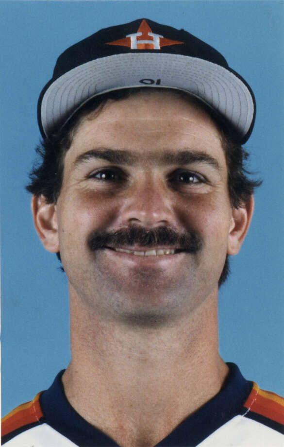 25. Dickie Thon, SS (1981-1987).270/.329/.396 batting line with 33 HRs, 172 RBIs, 226 Rs, 94 SBs and 14.4 Wins Above Replacement in 566 games.  Was coming off a seventh-place MVP finish in 1983 (at age 25) when he got beaned by Mets' Mike Torrez early the next season and was never the same. Photo: Houston Chronicle / handout/photo