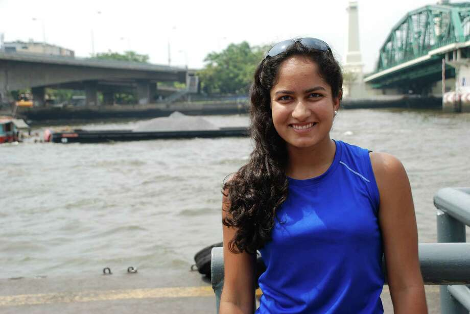 Anjali Krishnamachar is one of the two Darien recipients of the National Merit Scholarship. She goes to school at Phillips Academy in Andover, Mass. Photo: Contributed