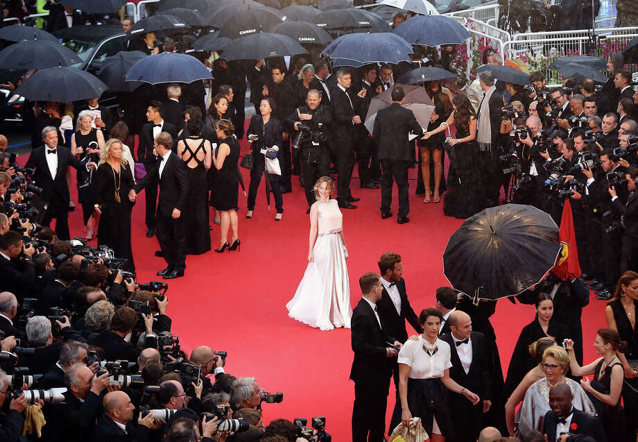 Ludivine Sagnier attends the Opening Ceremony and 'The Great Gatsby' Premiere during the 66th Annual Cannes Film Festival at the Theatre Lumiere on May 15, 2013 in Cannes, France. Photo: Vittorio Zunino Celotto, Getty Images / 2013 Getty Images