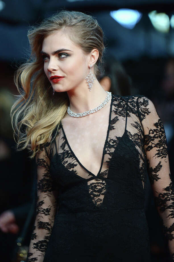 Model Cara Delevingne attends the Opening Ceremony and premiere of 'The Great Gatsby' during the 66th Annual Cannes Film Festival at Palais des Festivals on May 15, 2013 in Cannes, France. Photo: Dominique Charriau, WireImage / 2013 Dominique Charriau
