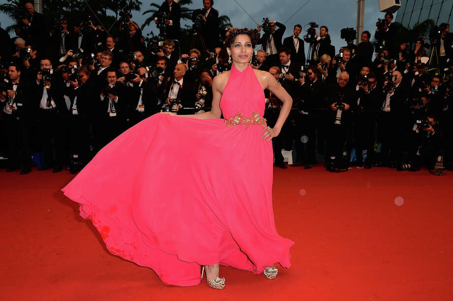 Freida Pinto attends the Opening Ceremony and 'The Great Gatsby' Premiere during the 66th Annual Cannes Film Festival at the Theatre Lumiere on May 15, 2013 in Cannes, France. Photo: Pascal Le Segretain, Getty Images / 2013 Getty Images
