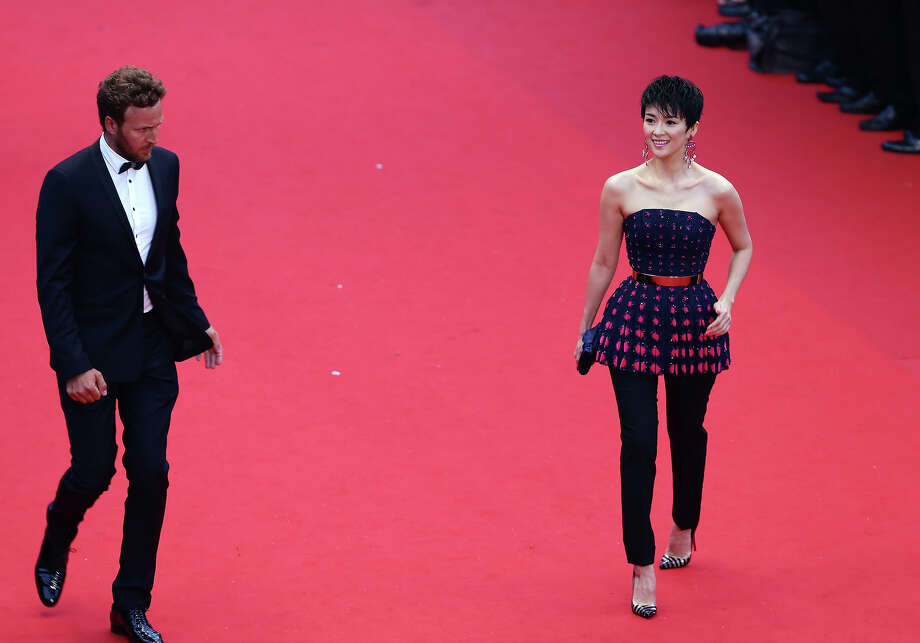 Zhang Ziyi attends the Opening Ceremony and 'The Great Gatsby' Premiere during the 66th Annual Cannes Film Festival at the Theatre Lumiere on May 15, 2013 in Cannes, France. Photo: Vittorio Zunino Celotto, Getty Images / 2013 Getty Images
