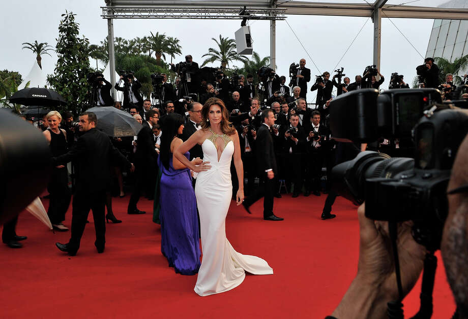 Cindy Crawford attends the Opening Ceremony and 'The Great Gatsby' Premiere during the 66th Annual Cannes Film Festival at the Theatre Lumiere on May 15, 2013 in Cannes, France. Photo: Gareth Cattermole, Getty Images / 2013 Getty Images