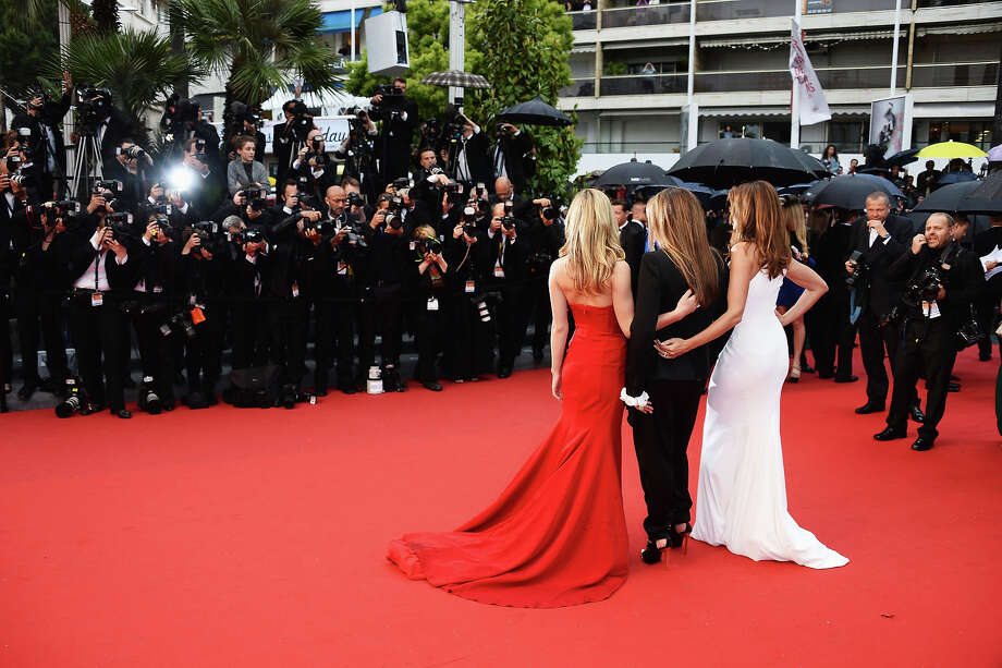 Georgia May Jagger, Eva Cavalli and Cindy Crawford attend the Opening Ceremony and premiere of 'The Great Gatsby' during the 66th Annual Cannes Film Festival at Palais des Festivals on May 15, 2013 in Cannes, France. Photo: Venturelli, WireImage / 2013 Venturelli