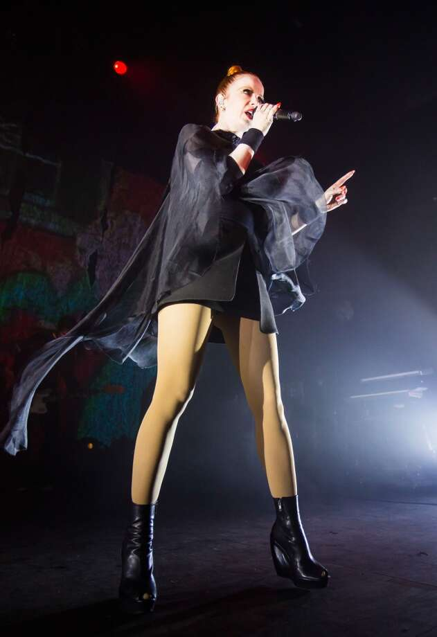 Shirley Manson of the rock band Garbage