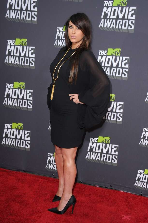 During her pregnancy, Kim Kardashian has been spotted on multiple red carpets sporting the little black dress.
