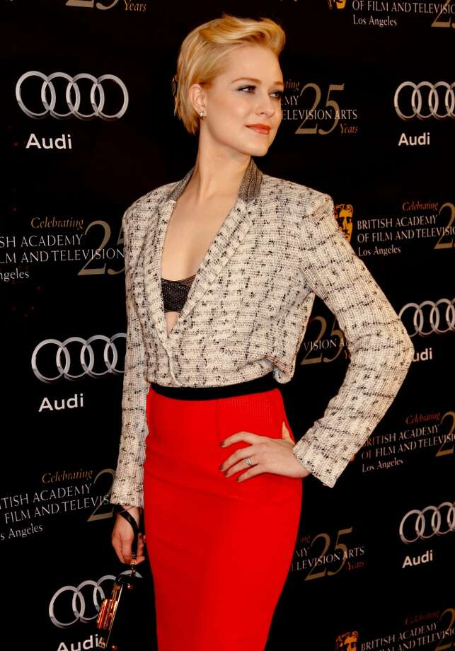 Wood attends the 18th annual BAFTA tea party in 2012.