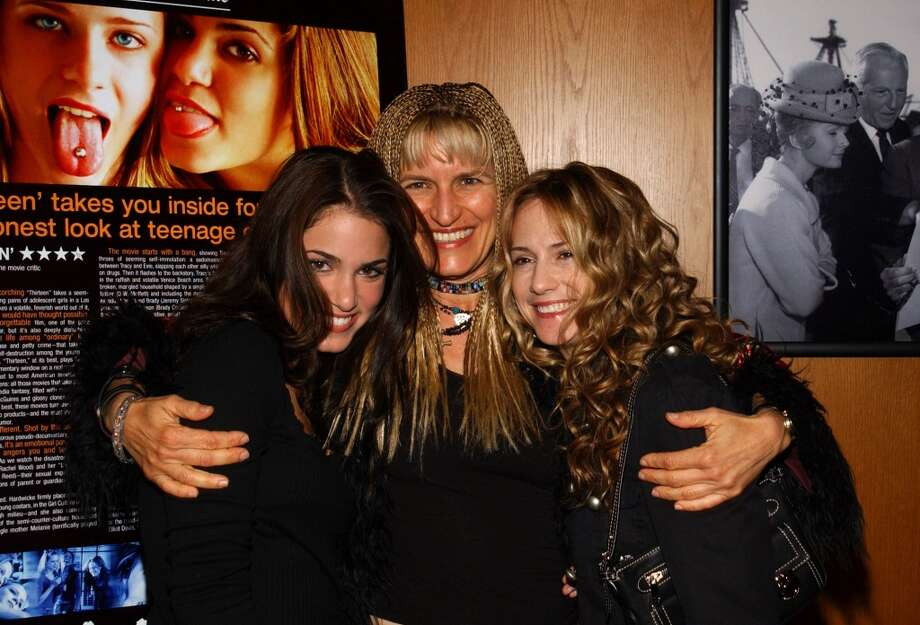Actress and co-Writer Nikki Reed, Director and Co-Writer Catherine Hardwicke and Producer Holly Hunter in 2003.