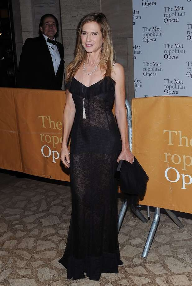 "NEW YORK - SEPTEMBER 27:  Actress Holly Hunter attends the 2010-11 season opening night performance of ""Das Rheingold"" at The Metropolitan Opera House on September 27, 2010 in New York City.  (Photo by Slaven Vlasic/Getty Images)"