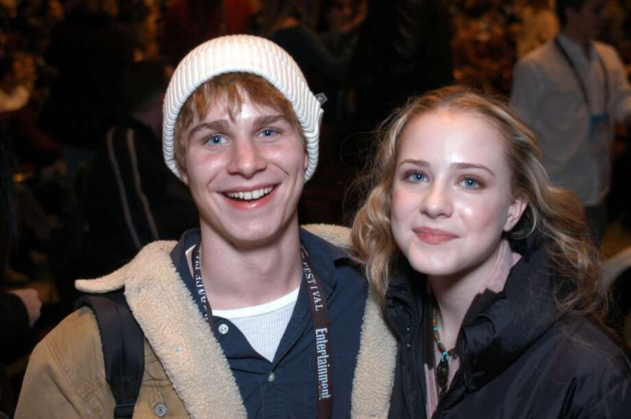 "Brady Corbet and Evan Rachel Wood during 2003 Sundance Film Festival - ""Thirteen"" premiere."