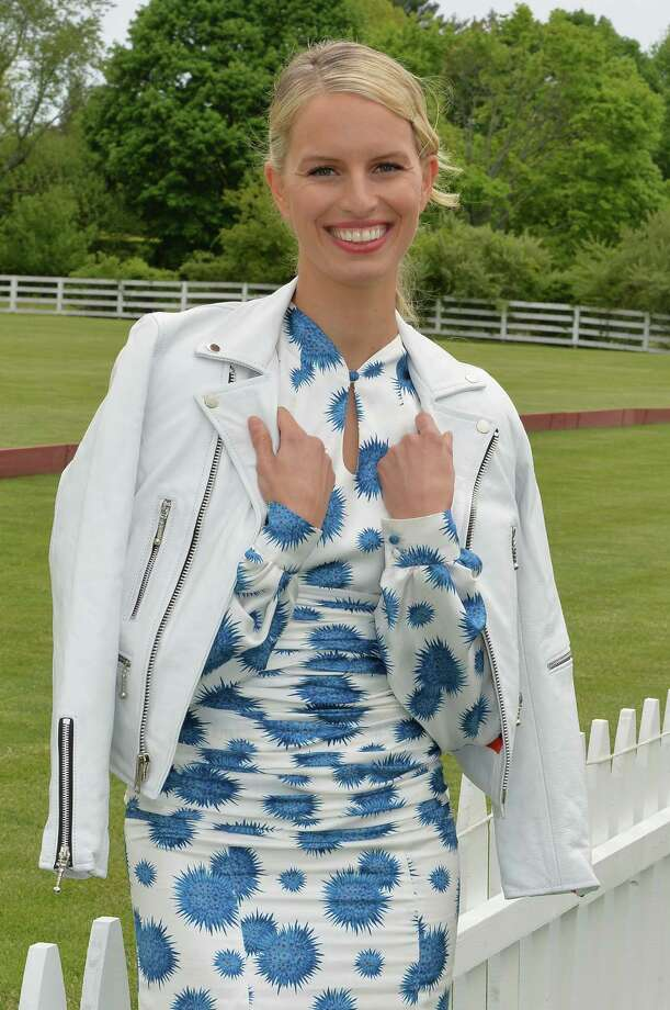 GREENWICH, CT - MAY 15: Model Karolina Kurkova poses at the Greenwich Polo Club during the sixth day of Prince Harry's US visit on May 15, 2013 in Greenwich, Connecticut. HRH will be undertaking engagements on behalf of charities with which the Prince is closely associated on behalf also of HM Government, with a central theme of supporting injured service personnel from the UK and US forces. (Photo by John Stillwell - Pool/Getty Images) Photo: Pool, Getty Images / 2013 Getty Images