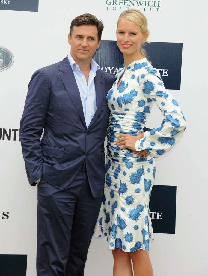 GREENWICH, CT - MAY 15:  Archie Drury and Model Karolina Kurkova attend the Sentebale Royal Salute Polo Cup during the sixth day of HRH Prince Harry's visit to the United States at Greenwich Polo Club on May 15, 2013 in Greenwich, Connecticut. HRH will be undertaking engagements on behalf of charities with which the Prince is closely associated on behalf also of HM Government, with a central theme of supporting injured service personnel from the UK and US forces.  (Photo by Jamie McCarthy/Getty Images) Photo: Jamie McCarthy, Getty Images / 2013 Getty Images