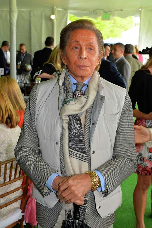 GREENWICH, CT - MAY 15: Italian fashion designer Valentino looks on at the Greenwich Polo Club during the sixth day of Prince Harry's US visit on May 15, 2013 in Greenwich, Connecticut. HRH will be undertaking engagements on behalf of charities with which the Prince is closely associated on behalf also of HM Government, with a central theme of supporting injured service personnel from the UK and US forces. (Photo by John Stillwell - Pool/Getty Images) Photo: Pool, Getty Images / 2013 Getty Images