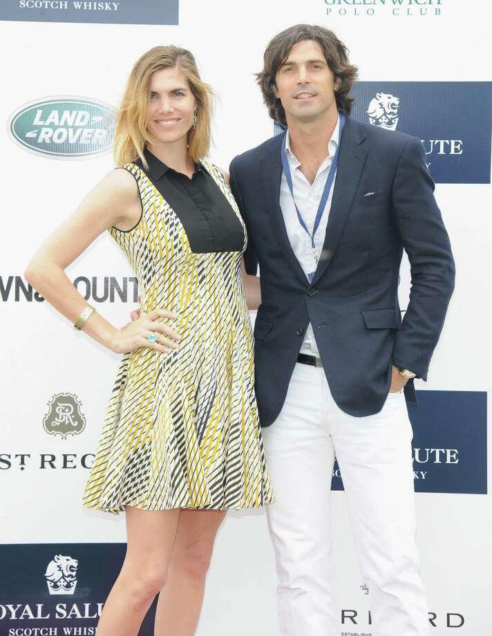 GREENWICH, CT - MAY 15:  Delfina Blaquier and Polo Player Nacho Figueras attend the Sentebale Royal Salute Polo Cup during the sixth day of HRH Prince Harry's visit to the United States at Greenwich Polo Club on May 15, 2013 in Greenwich, Connecticut. HRH will be undertaking engagements on behalf of charities with which the Prince is closely associated on behalf also of HM Government, with a central theme of supporting injured service personnel from the UK and US forces.  (Photo by Jamie McCarthy/Getty Images) Photo: Jamie McCarthy, Getty Images / 2013 Getty Images