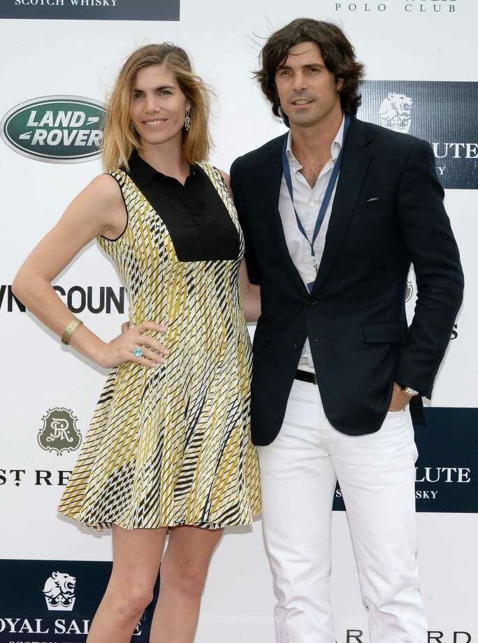GREENWICH, CT - MAY 15:  Delfina Blaquier and Polo Player Nacho Figueras attend the Sentebale Royal Salute Polo Cup during the sixth day of HRH Prince Harry's visit to the United States at Greenwich Polo Club on May 15, 2013 in Greenwich, Connecticut. HRH will be undertaking engagements on behalf of charities with which the Prince is closely associated on behalf also of HM Government, with a central theme of supporting injured service personnel from the UK and US forces.  (Photo by Andrew H. Walker/WireImage) Photo: Andrew H. Walker, WireImage / 2013 WireImage