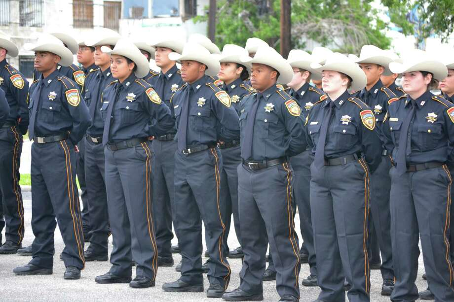 Members of the sheriff's office Explorers program participated in the Harris County Peace Officer's Memorial Ceremony this year. The program, with 130 participants, is the largest in Texas and second-largest in the nation.