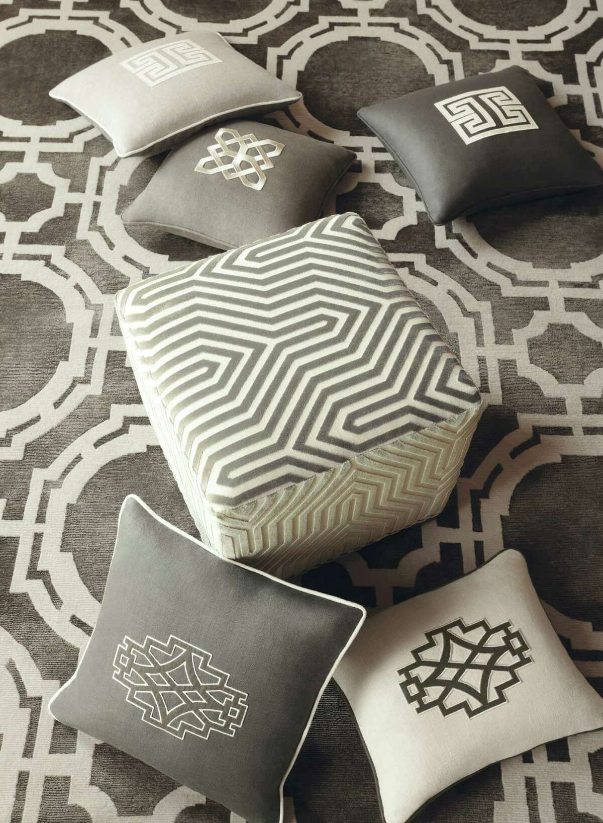 Mary McDonald's new collection of fabrics for Schumacher and rugs for Patterson, Flynn & Martin