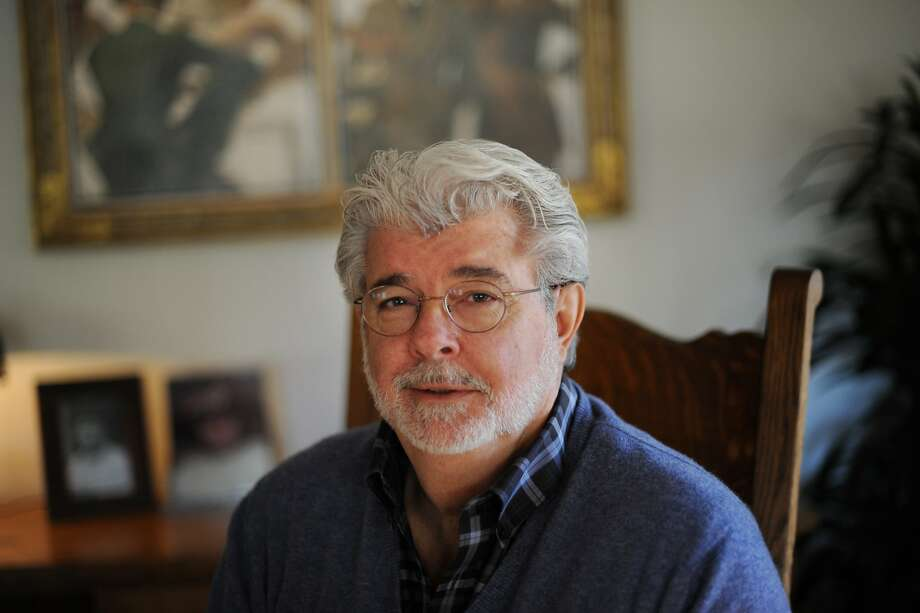 Film Director and Producer George Lucas at his office at Skywalker Ranch in Marin County, California. February 27, 2013. Photo: Erik Castro, Special To The Chronicle