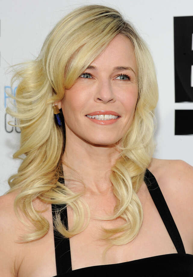 Chelsea Handler's blonde hair, blue eyes and bright smile make her look like... Photo: Evan Agostini, Associated Press / AGOEV