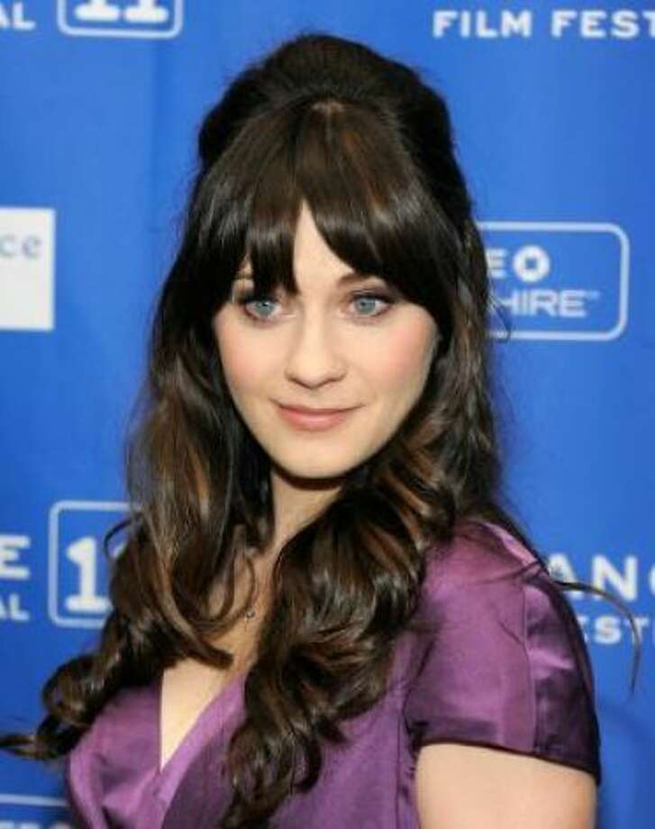 Zooey Deschanel. But Zooey looks like she could be twins with...
