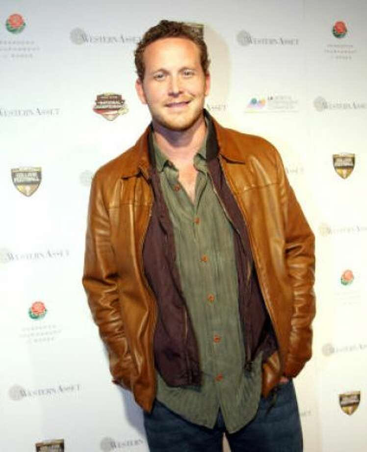 Cole Hauser. They also both like to dress in layers!