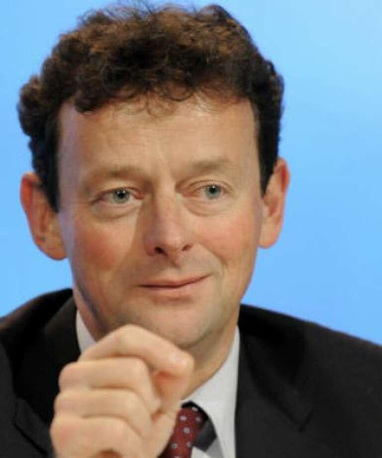 Tony Hayward, former chief executive of European oil giant BP, looks like...