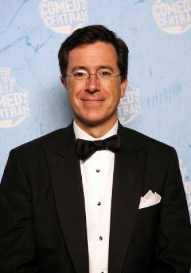 Stephen Colbert. Or maybe even...