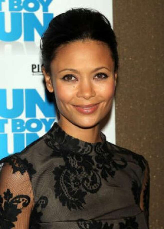 Thandie Newton kind of looks like...