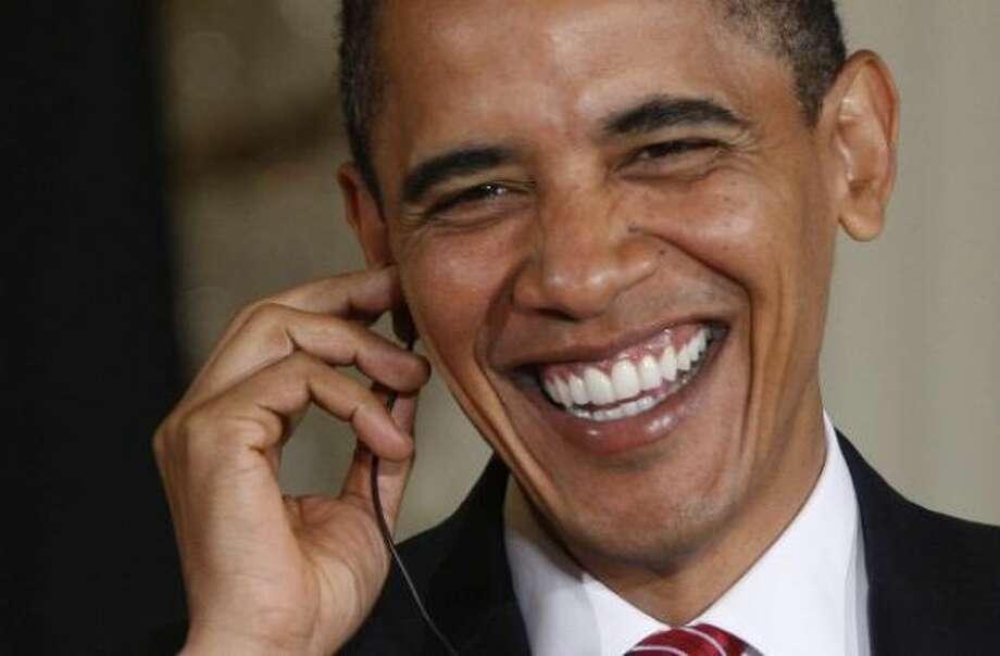 President Obama looks like...