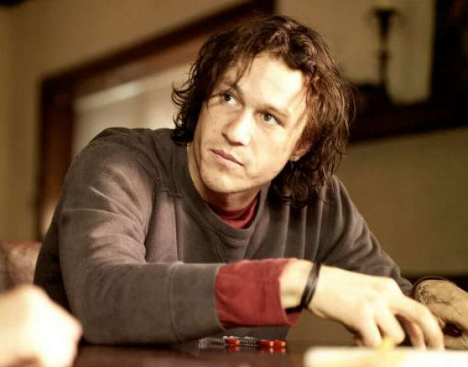 The late Heath Ledger resembled...