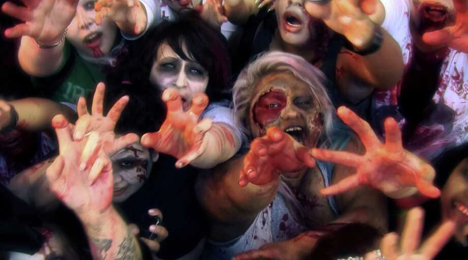 Dead Meat Walking - A Zombie Walk Documentary: The walking dead are among us in this exposé of real-life zombie walks, featuring event footage alongside interviews with participants, organizers, makeup artists, and celebrities (Tom Savini, Norman Reedus). North American Premiere (d: Omar J. Pineda c: , USA 2013, 70 min) Photo: Courtesy Photo