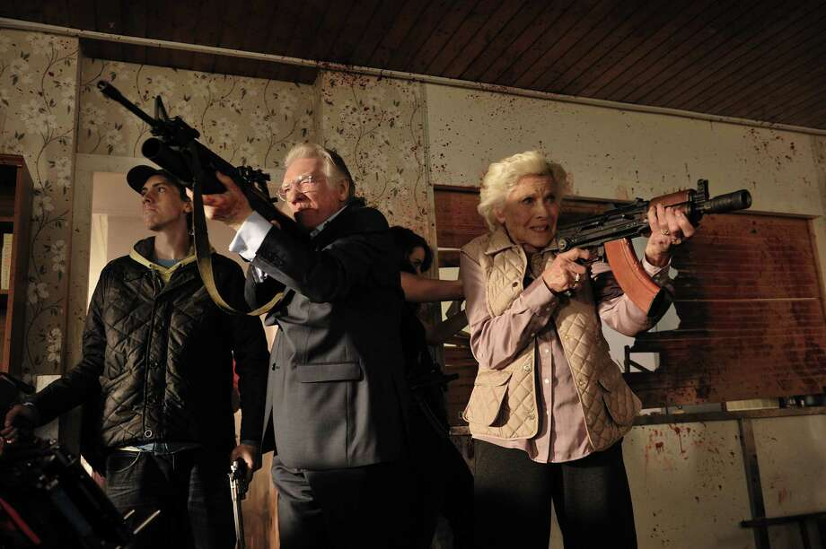 Cockneys vs. Zombies:  When East London is overrun with zombies, a pair of bank robber brothers hole up in their father's retirement community in this riotous splatter comedy.  (d: Matthias Hoene c: Harry Treadaway, Michelle Ryan, Georgia King, Alan Ford, Honor Blackman, United Kingdom 2012, 88 min) Photo: Owen Billcliffe, Courtesy Photo / Owen Billcliffe 2011