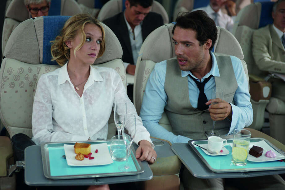 Love Is in the Air: On a flight from New York to Paris, exes Julie and Antoine are seated side-by-side for the first time since their break-up, and relive the lows, and highs, of their past. Make sure your seatbelt is securely fastened for this breezy romantic comedy! North American Premiere  North American Premiere (d: Alexandre Castagnetti c: Ludivine Sagnier, Nicolas Bedos, Jonathan Cohen, Arnaud Ducret, Brigitte Catillon, France 2013, 96 min) Photo: Courtesy Photo
