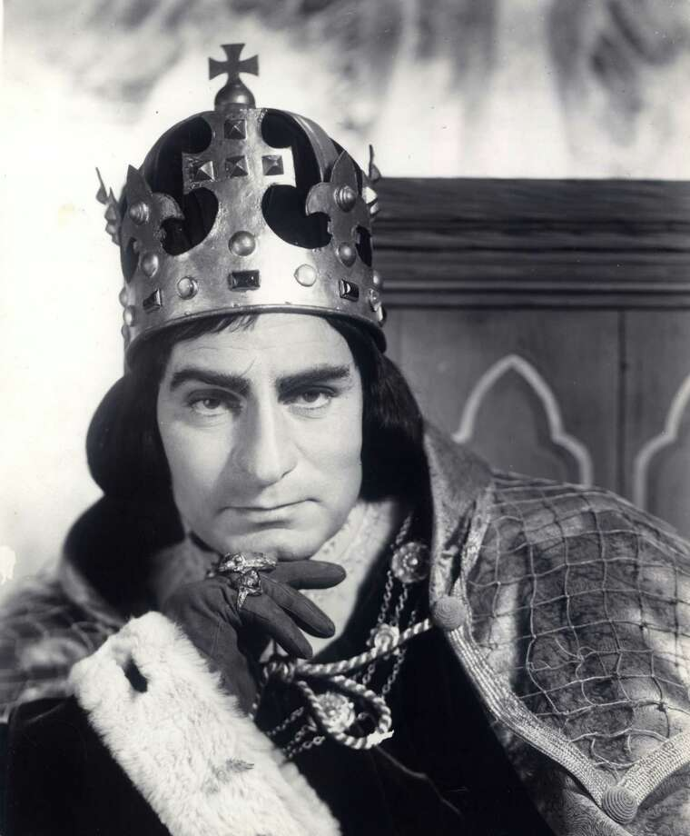 Richard III: Sir Laurence Olivier plays a murderous Richard III, who schemes to steal the throne from his brother, King Edward IV. This Shakespearean tragedy for the screen is filled with betrayal, blood, and perhaps the greatest performance of Olivier's career.   (d: Laurence Olivier c: Laurence Olivier, Ralph Richardson, John Gielgud, Claire Bloom, Cedric Hardwicke, United Kingdom 1955, 161 min) Photo: Courtesy Photo