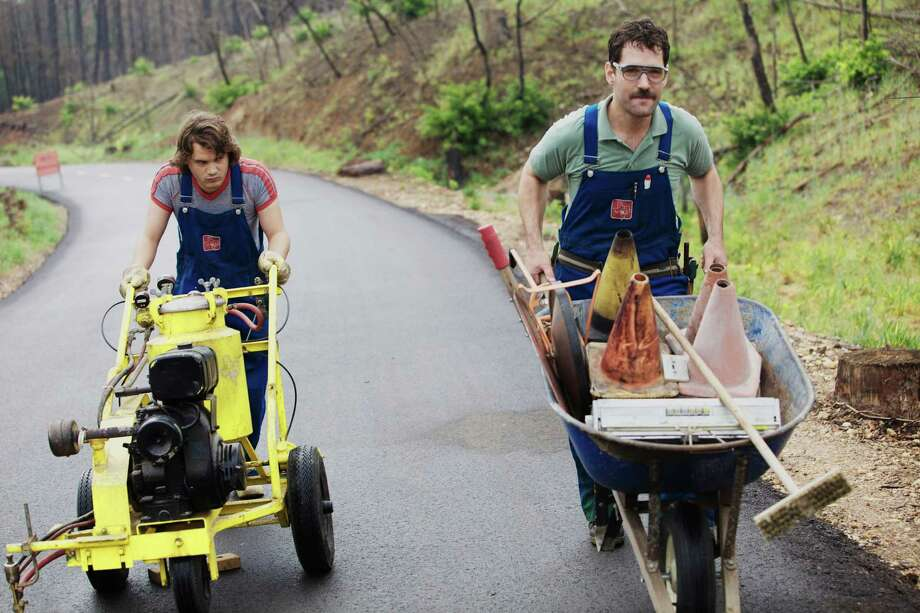 Prince Avalanche: Stern, meditative Alvin and his girlfriend's insecure brother, Lance, spend the summer together repainting traffic lines on country highway in this exquisitely crafted existential odd-couple comedy.  (d: David Gordon Green c: Paul Rudd, Emile Hirsch, Lance LeGault, USA 2013, 94 min) Photo: Courtesy Photo
