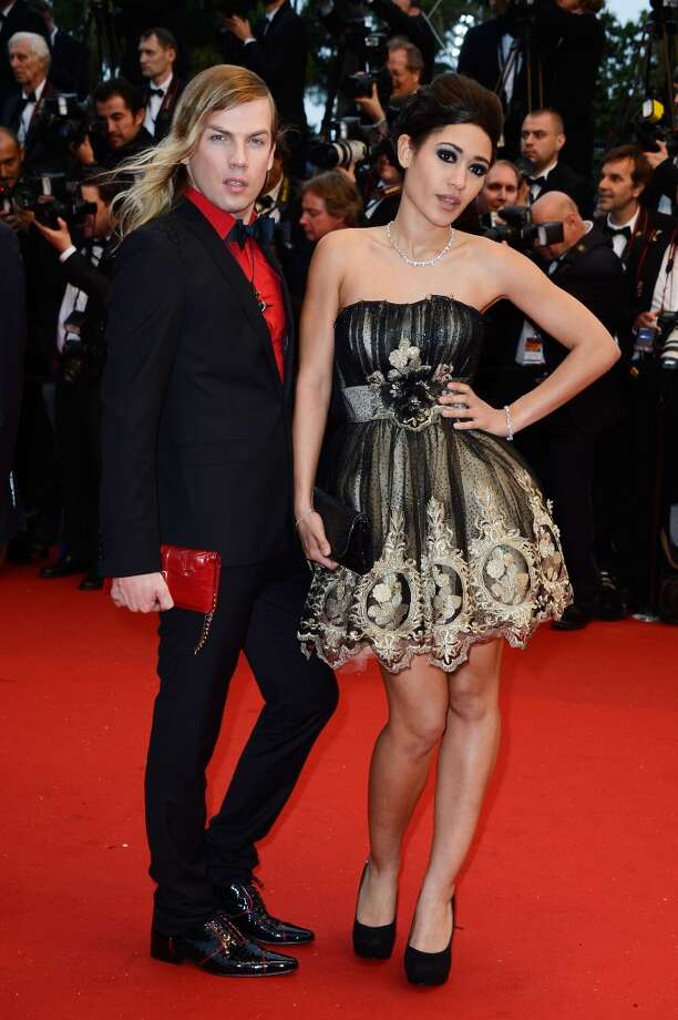 Christophe Guillarme (L-R) and Josephine Jobert attend the Opening Ceremony and 'The Great Gatsby' Premiere during the 66th Annual Cannes Film Festival at the Theatre Lumiere on May 15, 2013 in Cannes, France.