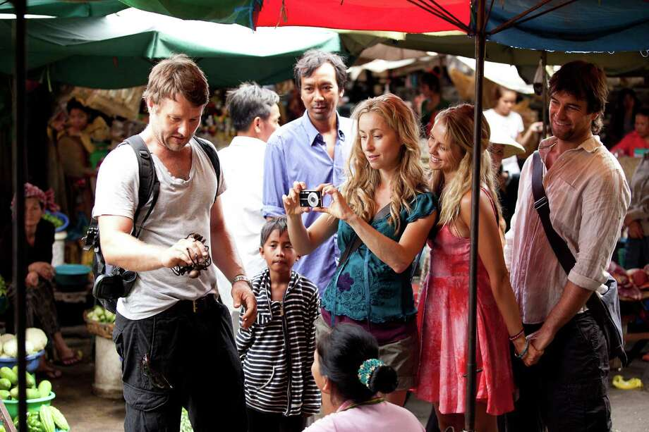 Wish You Were Here: A tropical holiday to Cambodia turns sinister when one friend from a group of four goes missing, and relationships unravel in this taut emotionally charged drama.    (d: Kieran Darcy-Smith c: Joel Edgerton, Teresa Palmer, Felicity Price, Antony Starr, Nicholas Cassim, Australia 2012, 89 min) Photo: Courtesy Photo