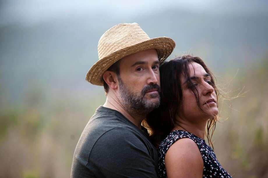 Yesterday Never Ends: Set in 2017's Barcelona, a region ravished by a financial crisis, a couple broken up by circumstances beyond their control reunite at a cemetery in this emotional and daring voyage into the shattered leftovers of love.  North American Premiere (d: Isabel Coixet c: Javier Cámara, Candela Peña, Spain 2013, 108 min) Photo: Courtesy Photo
